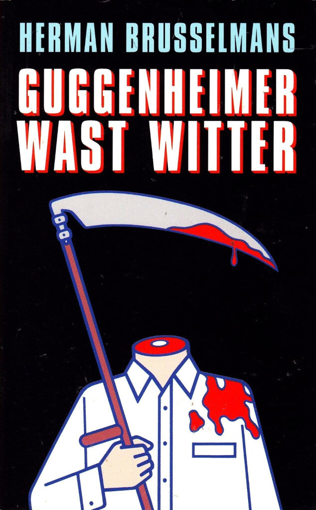 Boekomslag van Guggenheimer wast witter