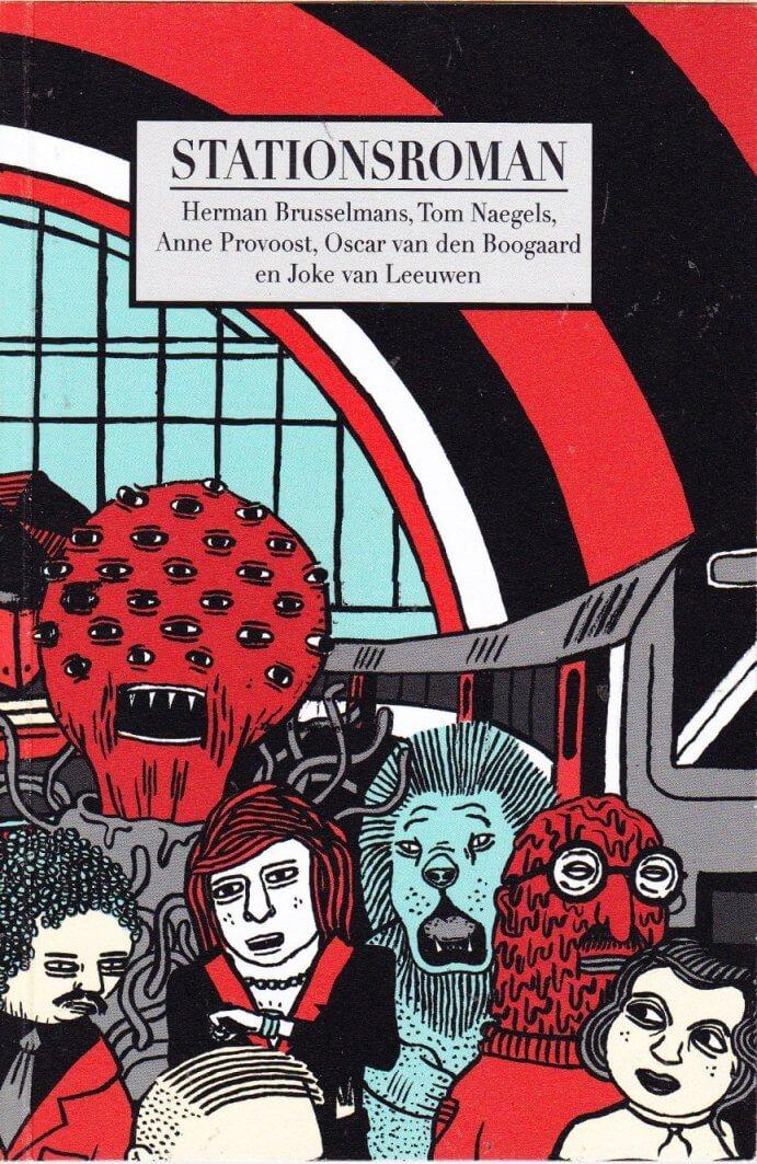 Boekomslag van Stationsroman