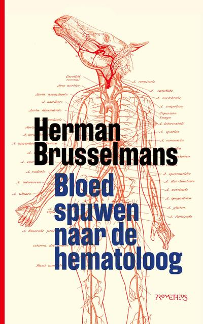 Boekomslag van Bloed spuwen naar de hematoloog
