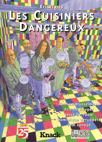 Boekomslag van Les Cuisiniers Dangereux