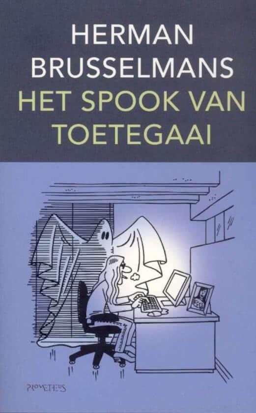 Boekomslag van Het spook van Toetegaai