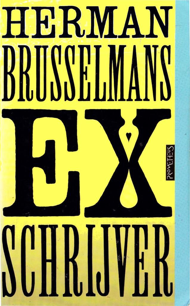 Boekomslag van Ex-schrijver
