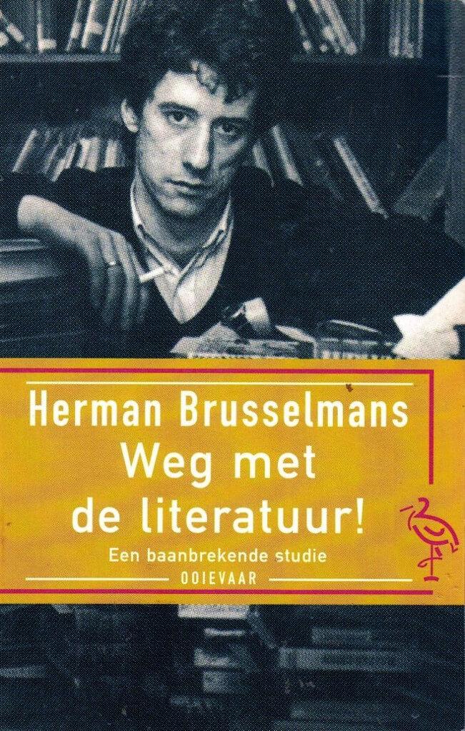 Boekomslag van Weg met de literatuur